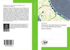 Bookcover of Influence du SO3 dans le clinker sur la durabilité du béton