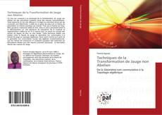 Bookcover of Techniques de la Transformation de Jauge non Abelien