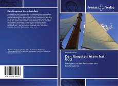 Bookcover of Den längsten Atem hat Gott