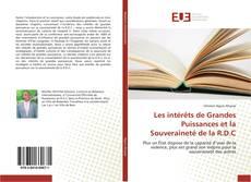 Copertina di Les intérêts de Grandes Puissances et la Souveraineté de la R.D.C