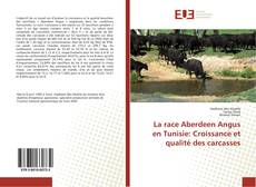 Portada del libro de La race Aberdeen Angus en Tunisie: Croissance et qualité des carcasses
