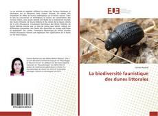 Buchcover von La biodiversité faunistique des dunes littorales