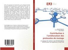 Bookcover of Contribution à l'amélioration des protocoles de routage