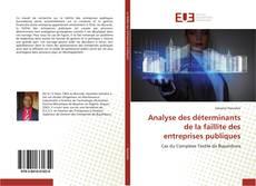 Borítókép a  Analyse des déterminants de la faillite des entreprises publiques - hoz