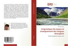 Couverture de Linguistique de corpus et enseignement des langues étrangères