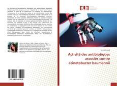 Capa do livro de Activité des antibiotiques associés contre acinetobacter baumannii