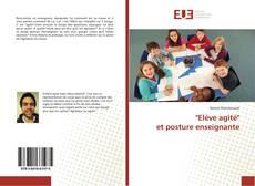 """Couverture de """"Elève agité"""" et posture enseignante"""