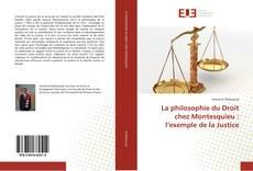 La philosophie du Droit chez Montesquieu : l'exemple de la Justice kitap kapağı
