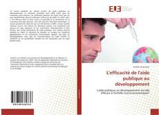 Buchcover von L'efficacité de l'aide publique au développement