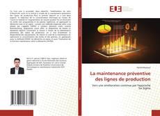 Capa do livro de La maintenance préventive des lignes de production