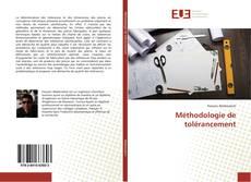 Buchcover von Méthodologie de tolérancement