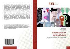 Bookcover of Affordances et schizophrénie