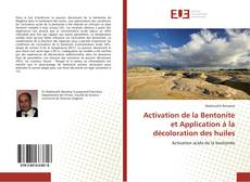 Activation de la Bentonite et Application à la décoloration des huiles的封面