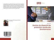 Bookcover of Gestion du dispositif de protection sociale des fonctionnaires