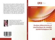 Capa do livro de Analyse déterministe et stochastique du modèle épidémiologique SIR