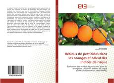 Portada del libro de Résidus de pesticides dans les oranges et calcul des indices de risque