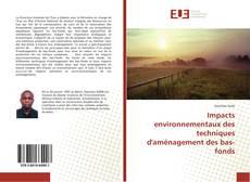 Bookcover of Impacts environnementaux des techniques d'aménagement des bas-fonds