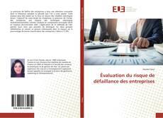 Portada del libro de Évaluation du risque de défaillance des entreprises