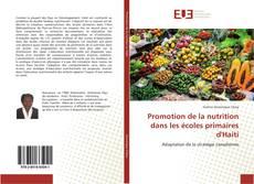 Capa do livro de Promotion de la nutrition dans les écoles primaires d'Haiti