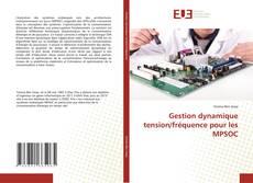 Gestion dynamique tension/fréquence pour les MPSOC kitap kapağı
