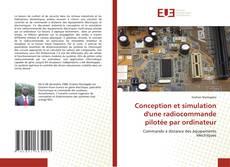 Conception et simulation d'une radiocommande pilotée par ordinateur kitap kapağı