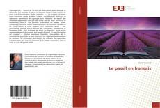 Bookcover of Le passif en francais