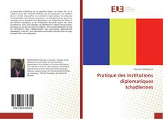 Capa do livro de Pratique des institutions diplomatiques tchadiennes