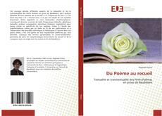 Bookcover of Du Poème au recueil