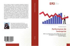 Capa do livro de Performance de l'entreprise