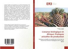 Bookcover of L'ananas biologique en Afrique: Pratiques actuelles de production