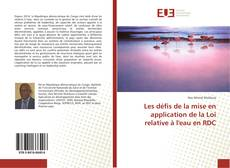 Bookcover of Les défis de la mise en application de la Loi relative à l'eau en RDC