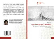 Bookcover of Les Rénovations Urbaines