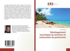 Couverture de Développement touristique du territoire et valorisation du patrimoine