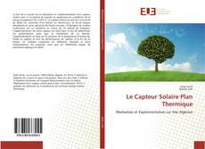 Portada del libro de Le Capteur Solaire Plan Thermique