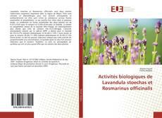 Portada del libro de Activités biologiques de Lavandula stoechas et Rosmarinus officinalis