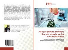 Portada del libro de Analyse physico-chimique des sols irrigués par les eaux industrielles