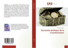 Buchcover von Économie politique de la mondialisation
