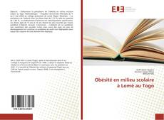 Obésité en milieu scolaire à Lomé au Togo的封面