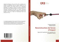 Buchcover von Reconstruction de forces d'impact