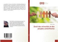 Bookcover of Droit des minorités et des peuples autochtones