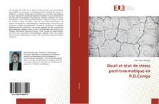 Bookcover of Deuil et état de stress post-traumatique en R.D.Congo