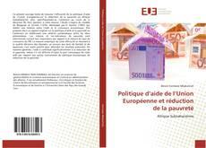 Bookcover of Politique d'aide de l'Union Européenne et réduction de la pauvreté