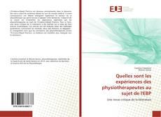 Borítókép a  Quelles sont les expériences des physiothérapeutes au sujet de l'EBP - hoz