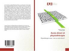 Bookcover of Accès direct et physiothérapie