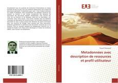 Portada del libro de Metadonnées avec description de ressources et profil utilisateur