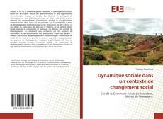 Portada del libro de Dynamique sociale dans un contexte de changement social