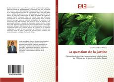 Buchcover von La question de la justice