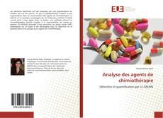 Buchcover von Analyse des agents de chimiothérapie