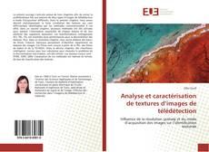 Copertina di Analyse et caractérisation de textures d'images de télédétection