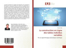 Capa do livro de La construction en Ligne des tables individus variables